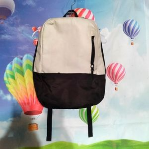 Incase compass white leather  back pack